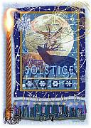 Winter Solstice Prints - Winter Solstice Print by Ernestine Grindal
