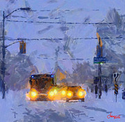 Vincent DiNovici - Winter Storm on Bathurst...