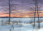 Kerry Kupferschmidt - Winter Sunset