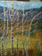 Polly Rickman - Winter Trees In Line