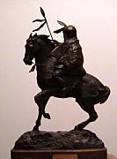 Animals Sculptures - Winter Warrior - Limited Edition - 20 by Gordon Sage