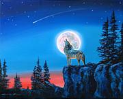 David Lloyd Glover - Winter Wolf Moon