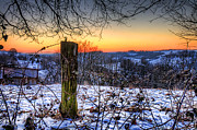 Germany Photo Posters - Winters Eve Poster by Ryan Wyckoff