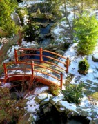 Pathways Photos - Winters Goodbye by Karen Wiles