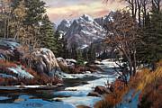 Winter's Palette Print by W  Scott Fenton