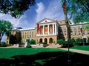 Wisconsin Bright Colors At Bascom Print by UW Madison University Communications
