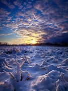 Geographic Prints - Wisconsins Winter Wonderland Print by Phil Koch