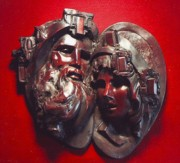 Traditional Sculpture Originals - Wisdom and Hope by Larkin Chollar