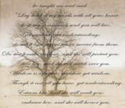 Embrace Digital Art Prints - Wisdom Print by Charles Dobbs