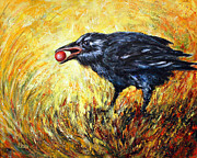 Berry Originals - Wise Crow by Helga Gravitt