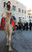 Camel Originals - Wise Man during the Christmas Parade by Munir Alawi