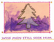 Creative Mixed Media - Wise Men STILL Seek Him by Angela L Walker