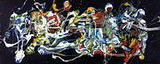 Abstract Art Large Scale Prints - Wish List XXVIII Print by Michel  Keck