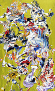 """contemporary Abstract"" Prints - Wish List XXXIV Print by Michel  Keck"