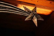 Sterling Silver Art - Wish Upon a Shooting Star by Linda Knorr Shafer