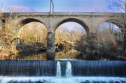 Philadelphia Digital Art Prints - Wissahickon Viaduct Print by Bill Cannon