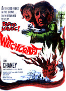 1960s Poster Art Posters - Witchcraft, From Left Jill Dixon, Lon Poster by Everett