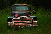 Old Trucks Photo Metal Prints - With Both Eyes Poked Out Metal Print by Jeff  Swan