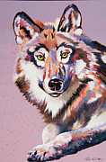 Abstracted Wildlife Art Posters - With Intent Poster by Bob Coonts
