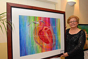 Puerto Rico Painting Originals - With My Hearts Echo by Estela Robles