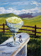 Margarita Paintings - With Salt by Mary Giacomini