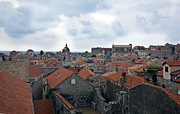 Red Roofs Photos - Within the Walls of Dubrovnik by Madeline Ellis
