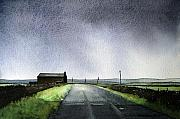 Landscape Paintings - Withins by Paul Dene Marlor