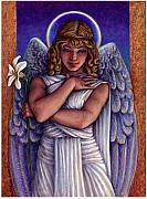 Holy Water Angel Prints - Witness to Perfection Print by Jane Bucci