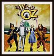 Cowardly Lion Posters - Wizard of Oz Poster  Poster by Donald Carmichael