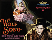 Lupe Acrylic Prints - Wolf Song, Lupe Velez, Gary Cooper, 1929 Acrylic Print by Everett
