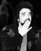 Celebrities Photo Framed Prints - Wolfman Jack  Framed Print by Bob Orsillo