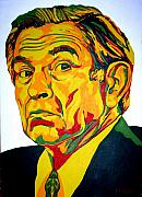 Iraq Paintings - Wolfowitz by Dennis McCann
