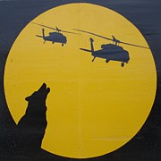 Iraq Conflict Prints - Wolfpack Print by Unknown