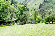 Wolfscote Dale From Gipsy Bank Print by Rod Johnson