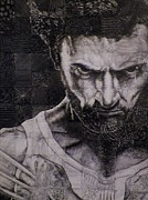 Wolverine Drawings - Wolverine by Jeff Stephens