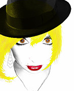 Fashion Art For Boutique Prints - Woman 13 Print by Cheryl Young