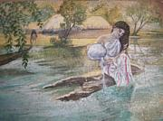 Motley Mahapatrarath - Woman At The Pond 2