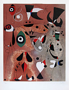 Joan Miro - Woman Birds Star