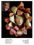 Woman   Sculpture Originals - Woman Blossoming by Beverly Barris