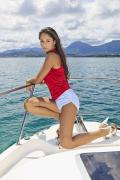 Attractive Framed Prints - Woman Boating at Kaneohe Framed Print by Tomas del Amo - Printscapes