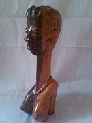 Hard Sculptures - Woman Half Body by Jolaosho Ajibola