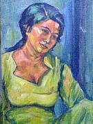Fareeha Usman - Woman In Green