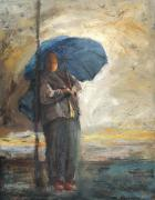 Susan Adame - Woman in the Rain