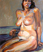 Stan Esson Originals - Woman Nude by Stan Esson