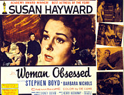 Fid Photos - Woman Obsessed, Susan Hayward, Stephen by Everett