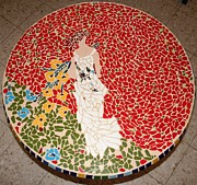 Table Ceramics - Woman by Ofra Moran