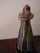 Worship Sculptures - Woman w Child by Milton Tarver