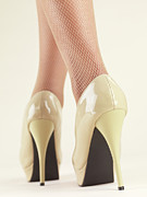 Tights Photos - Woman Wearing High Heel Shoes by Oleksiy Maksymenko