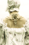 Shoulder Prints - Woman With Bonnet Print by Joana Kruse