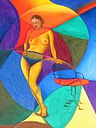 Mak Art - Woman With Chair